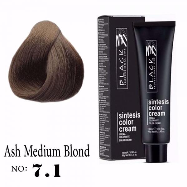 7.1 (Ash Medium Blond)