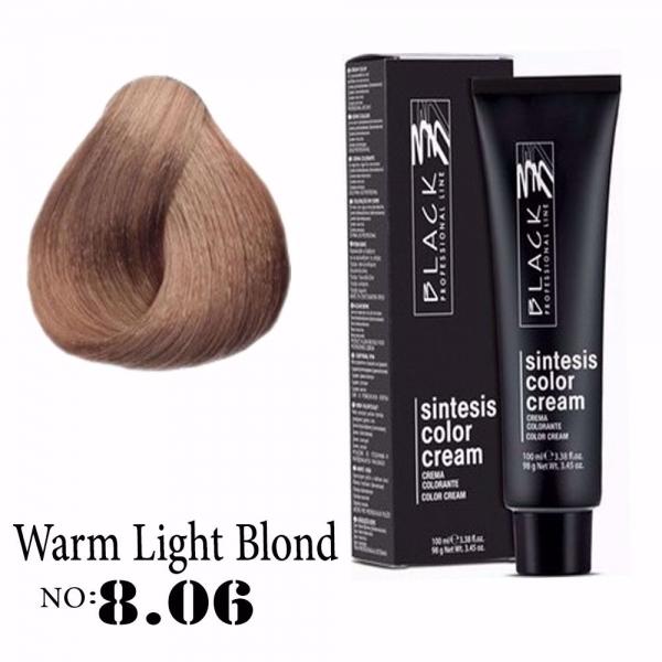 8.06 (Warm Light Blond)